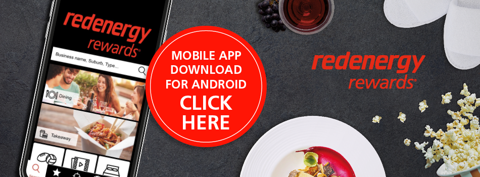 Download the Red Energy Rewards Android app now!